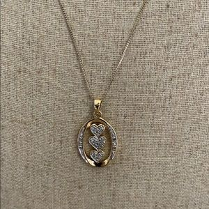 Jewelry - Necklace sterling gold plated 925 Italy ❤️